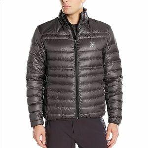 Spyder Prymo down jacket Medium NWT Polar/Black